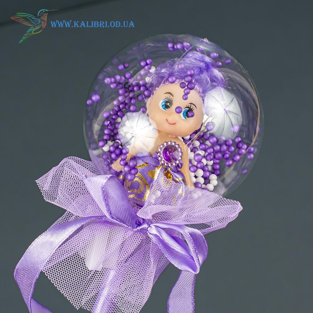 Світяться палички Лялечки в Кульці светяшки фіолетові