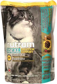 Сухой корм для привередлевых кошек живущих дома I17 NUTRAM 320 г