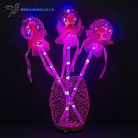 Світяться палички Лялечки в Кульці светяшки рожеві, фото 2