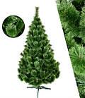 Сосна искусственная зеленая Микс 1.5 м, новогодняя зеленная сосна жилка-ПВХ с подставкой, фото 6