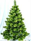 Сосна искусственная зеленая Микс 1.5 м, новогодняя зеленная сосна жилка-ПВХ с подставкой, фото 10