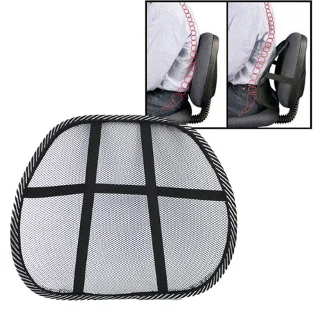 Підставка для спини каркасна (масажна) для будинку і автомобіля