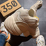 Adidas Yeezy 500 Blush (Бежевый), фото 7