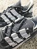 Adidas Lexicon Future Gray White (Серый), фото 4