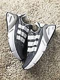 Adidas Lexicon Future Gray White (Серый), фото 5