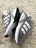 Adidas Lexicon Future Gray White (Серый), фото 7