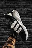 Adidas Lexicon Future Black White (Черный), фото 3