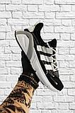 Adidas Lexicon Future Black White (Черный), фото 5