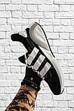 Adidas Lexicon Future Black White (Черный), фото 7