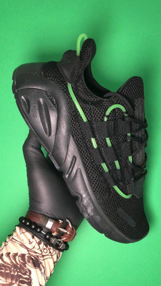 Adidas Lexicon Future Black Green (Черный)