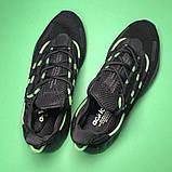 Adidas Lexicon Future Black Green (Черный), фото 4