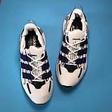Adidas Lexicon Future White Blue (Белый), фото 3