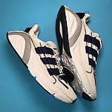 Adidas Lexicon Future White Blue (Белый), фото 5