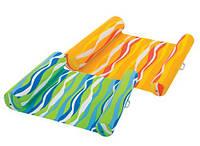 Пляжный надувной матрас-гамак Intex 58834 (Зеленый)