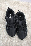 Adidas Yeezy Boost 700 Black White (Черный), фото 4