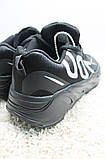 Adidas Yeezy Boost 700 Black White (Черный), фото 7