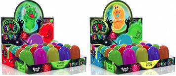 "Лизун ""Crazy Slime"" Fluoric №SLM-FL-01-01U/Danko Toys/(20)"