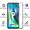 Защитное стекло для Motorola Moto G9 Play черный