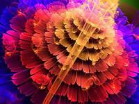 """Алмазная мозаика """"Вальс цветов"""", 30*40см, без рамки"""