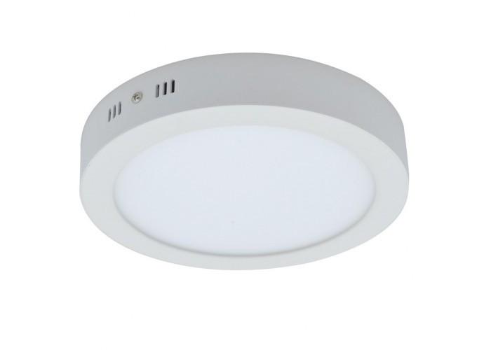 Накладной светодиодный светильник круг 18W 4000К