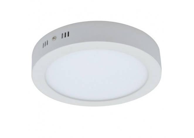 Накладной светодиодный светильник круг 18W 4000К, фото 2