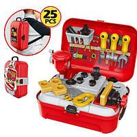 Портативный рюкзак Tool toy (игровой набор 25 предметов)