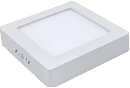 Накладной квадратный светодиодный светильник 24W 6500К, фото 2