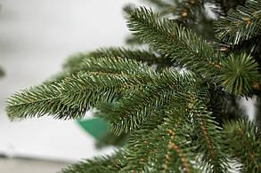 Ель искусственная литая комбинированная 250 см Зеленая, фото 2