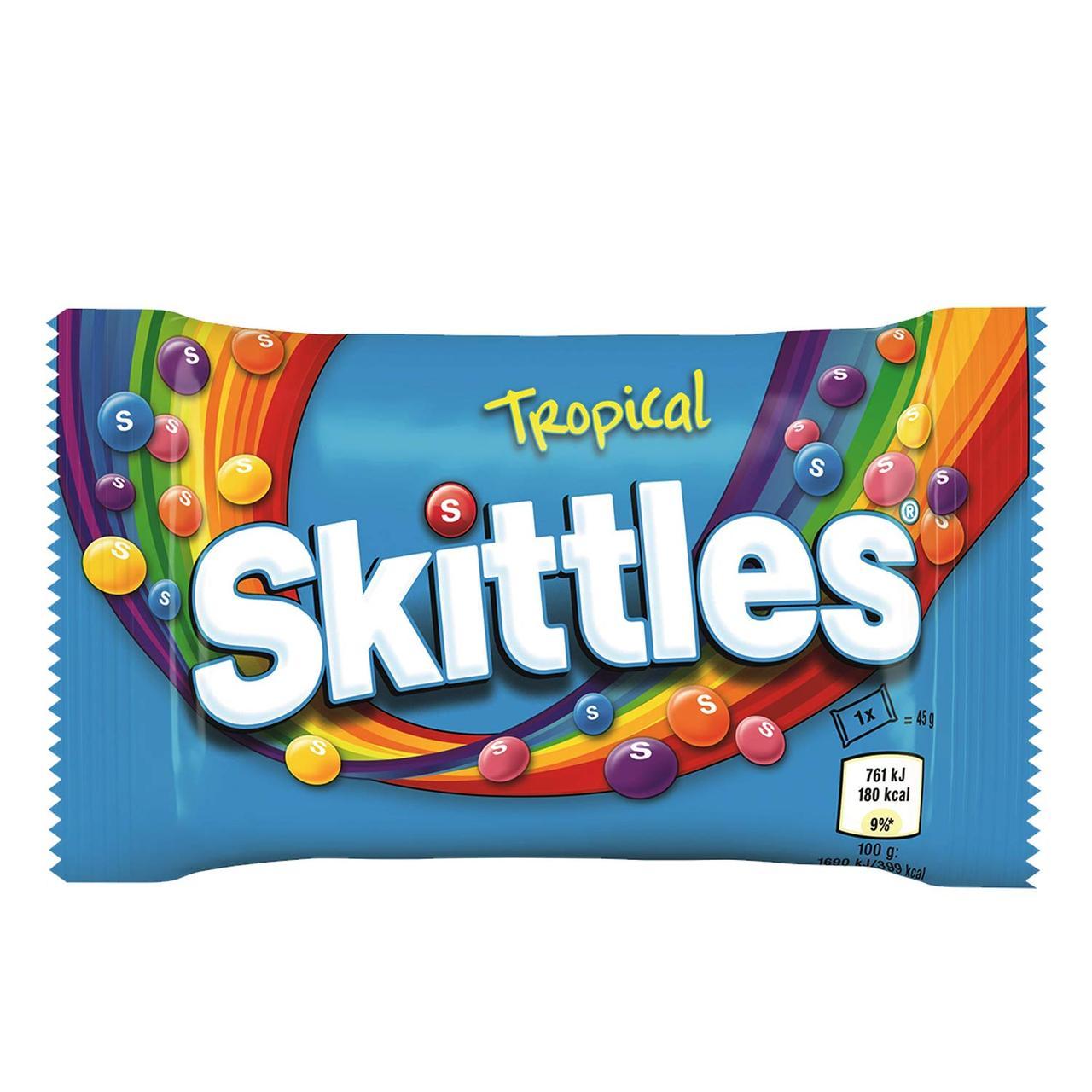 Драже Skittles Tropical 45 g