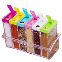 Набор емкостей для специй из 6 контейнеров DTMA