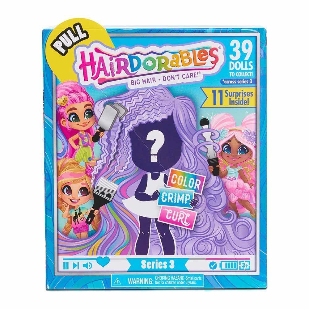 Игровой набор игрушка сюрприз Кукла Hairdorables 3 Series