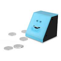 Копилка жующая монеты с лицом Face Piggy, фото 1