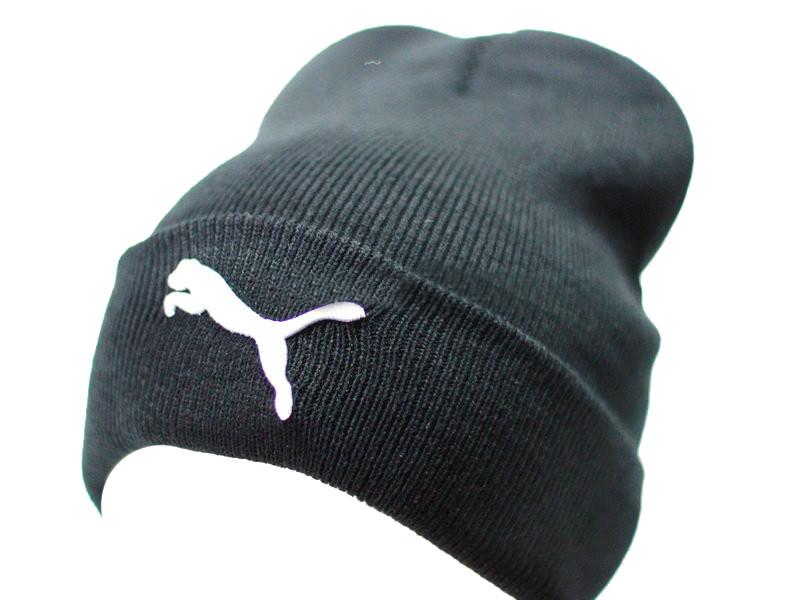 Теплая шапка колпак с подворотом