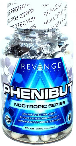 Фенибут Revange Nutrition Phenibut 500 mg 90 caps