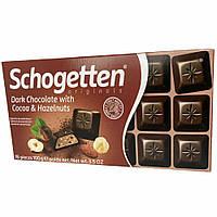 Шоколад черный с какао и орехами Schogetten