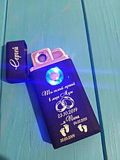 Запальничка usb електронна гравіюванням, фото 3