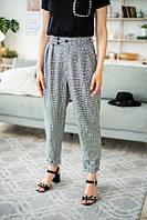 Классические женские брюки на высокой талии, фото 1