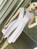 Вечернее платье украшенное камнями размер с м л хл, фото 1