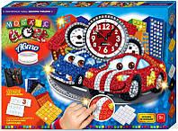 Мозаичные часы Тачки (Сделай Сам), ТМ Danko Toys