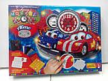 Мозаичные часы Тачки (Сделай Сам), ТМ Danko Toys, фото 4