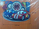 Мозаичные часы Тачки (Сделай Сам), ТМ Danko Toys, фото 3