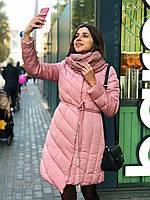 Зимняя куртка с шарфом, фото 1