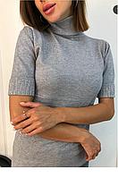 Женский гольф Американка с камнями на рукавах, фото 1