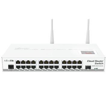 24-портовый управляемый Cloud коммутатор с Wi-Fi