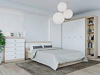 Спальня комплект 3 ЭВЕРЕСТ Дуб сонома + Белый, фото 1