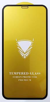 Защитное стекло для Apple iPhone XR / iPhone 11 полная проклейка OG Gold Armor Full Glue