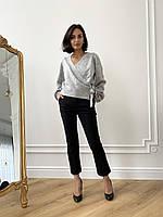 Классические женские брюки черного цвета