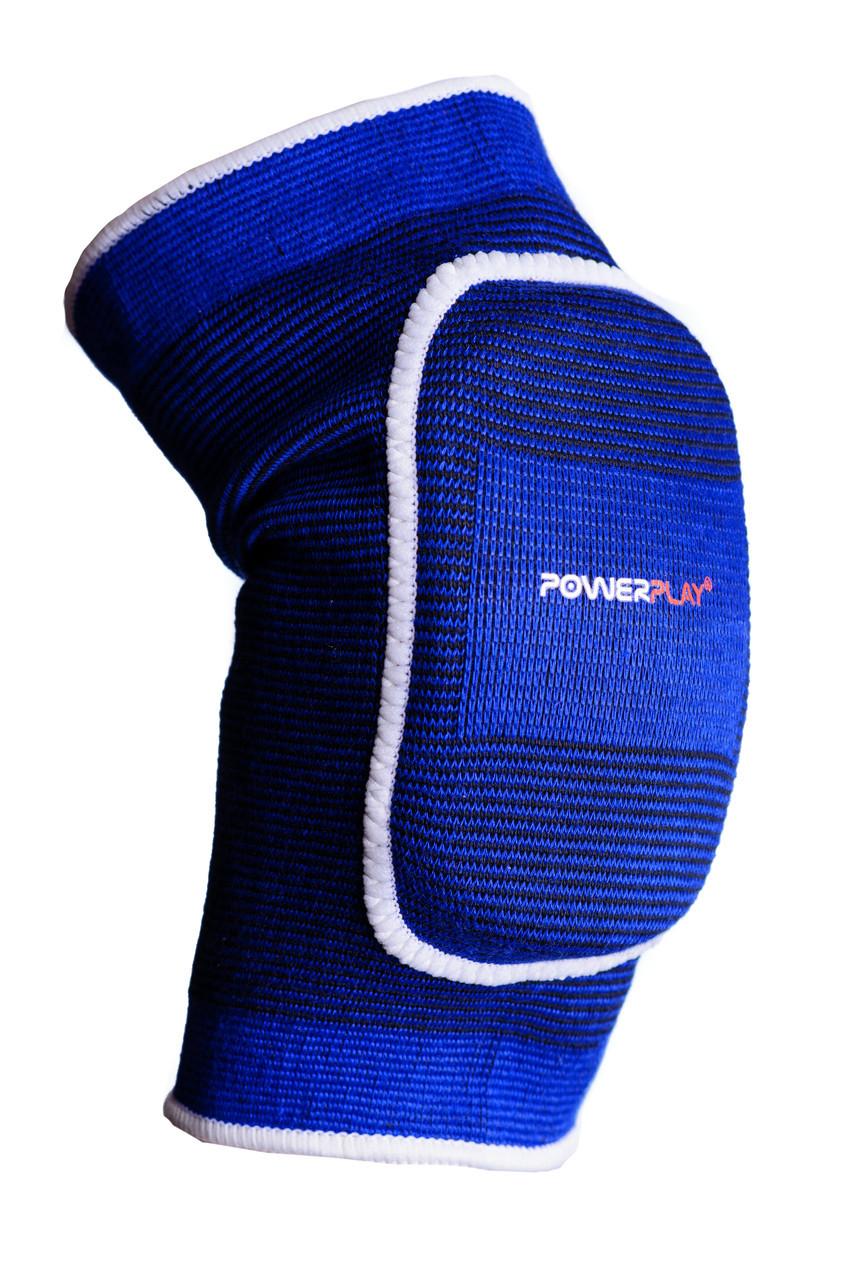 Налокітник волейбольний PowerPlay 4105 (1шт) L/XL Синій