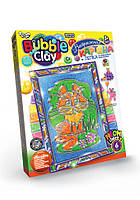 """Набор креативного творчества 8063DT """"Bubble Clay"""" Витражная картина, детский пластилин,наборы для"""