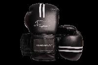 Боксерські рукавиці PowerPlay 3016 Чорно-Білі 10 унцій, фото 1
